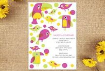 Party Invitations / Find the perfect invite for as low as $0.99! / by Oubly - Custom Printing