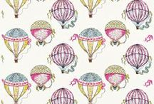 Sanderson Beautiful Balloons Fabrics
