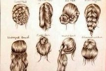Hairstyles♥ / Need to try these