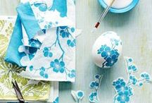 Easter / Inspiration for cute Easter decor, foods, and egg dyeing.