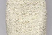 crochet skirt-spódnice
