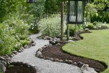 Garden paths and stairways