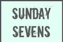 Sunday Sevens / Blogs that are sharing the love of the link up that is 'Sunday Sevens'!