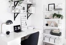 HOME || Workspace / office, art room, office storage, work space, desk, pretty office, home office, working, laptop, flatlay, pretty, home decor, home design, girl boss