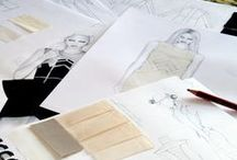 Grafton Fashion Illustrations / Students fashion illustrations and research