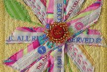 Fabric ATCs & Postcards