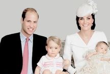 Prince William, Kate, George & Charlotte
