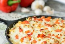 Comfort Food Recipes / Recipes for all the warm, satisfying, comfort foods you enjoy! Cheesy Dishes, Breads, Pastas, Pizzas, and more!