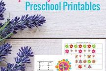 Printables for Kids / Kids Printable Coloring Pages, Preschool Printables, Puzzle Printables, Chore Charts and Home Organization with Kids, etc.