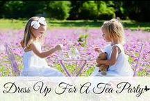Little Girls Tea Party Ideas / Tea Party Inspiration: Tea Party Decor, Tea Party Food, Tea Party Themes, etc.