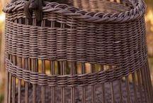 Плетение Weaving : basketand more Плетение / идеи : корзинки, кормушки и т.д