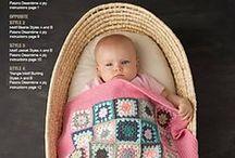 Пледы  Blankets / схемы, идеи-пледы