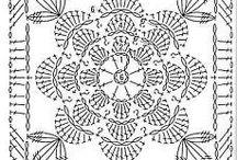 Мотивы крючком Motifs crochet