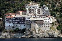 Афон Afon Athos / о христианстве и закрытие места -монастыри и прочее