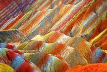 Гео Geo Earth / странные пейзажи-разломы, скалы, слои, мегаобъекты , следы пращуров-древнейшие цивилизации и их следы...в камне