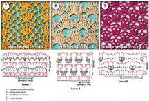 Узоры Крючком Pattern Crochet / узоры крючком pattern crochet