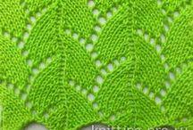 Узоры Cпицами Pattern Spokes / узоры спицами pattern spokes