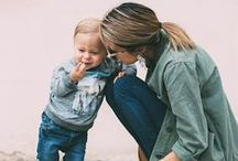 Cool Mom / Cool moms with kids, cool mom fashion, family photography inspiration, mom and kids fashion. #coolmom #momfashion #mom #kids #parenting