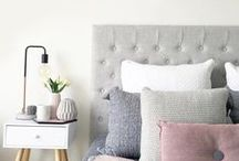 HOME || Bedroom / luxury, bed, bedroom, tidy room, home, home decor, bedroom inspiration, bedroom organisation, bedroom, bedding, soft furnishings, cushions, pink bedroom, girls bedroom, white room, bedroom decor