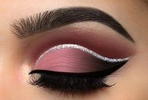 MAKEUP || Eyes / eyeshadow, palette, eye makeup, pretty eyes, false lashes, cut crease, neutral eye, smokey eye, pretty makeup, beauty, beauty blogger
