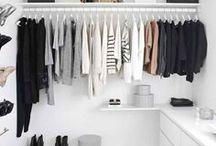 Wardrobes / closet, wardrobe, fashion wardrobe, fashion, womans fashion, knitwear, decor, home, preppy fashion, casual style, wardrobe organisation