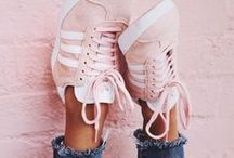 FASHION || Footwear / shoes, womans shoes, shoe boots, suede boots, pumps, converse, trainers, high tops, sneakers, laces, heels, stilettos, wedges, sandals, ankle boots, frill socks