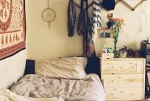 Sleeping spaces.