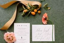 Stationary / Wedding day stationary for fabulous couples!
