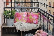 Pe balcon