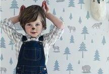 Hibou Home kids Wallpaper / Kids wallpaper, children's wallpaper