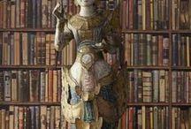 Andrew Martin navigator wallpaper  / Library wallpaper / book case wallpaper