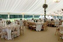 Wedding chairs / limewash chiaviri chairs, white and black padded folding chairs.