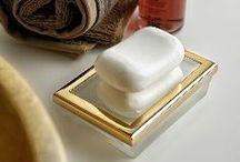 Golden inspirations of bathroom / Golden inspirations of bathroom always beautiful and adding luxury golden bathroom accessories