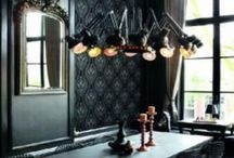 Brian Yates Grandeur Wallpaper / Crate drama and sophistication with this beautiful range of wallpapers