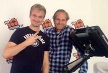 50HoursShow (September 2014) / 50 Stunden liveeee aus dem Studio!!!!!! Inkl. Kochen, Massage, Cocktails, Hörerbesuchen und und und :)