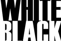 ◐ black & white ◐
