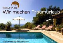 easyFinca / Angebote und Informationen rund um das Unternehmen easyFinca - individueller Urlaub auf Mallorca, Formentera oder Ibiza, Unterkünfte, Urlaubsplanung, Serviceleistungen etc.