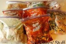Recipes - Freezer Foods / Dishes to put together, freeze, and cook later.