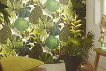 Botanical Wallpapers / Botanical wallpapers on trend for 2017