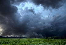 *Glorious Nature / There is majesty and wonder in Nature. ALWAYS! Stormy skies, although scarey, are very exciting. Nature brings us gifts, wonder, and  sometimes destruction. Savor it all. / by Nawona Bell