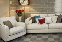 WHITE interiors and fabric