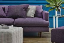 PURPLE interiors and fabric