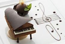 Chocolate y otros dulces  / Chocolates y dulces presentados de forma original