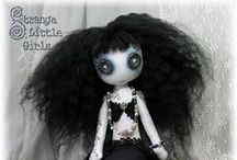 Fairy and Fantasy Art Dolls / Fairies and other fantasy characters in cloth, clay and other materials, by vegan artist Jo Hards