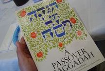 "Haggadot & Books about Pesach (Passover) / Haggadot (plural form of Haggadah) are books containing liturgy through which the story of the Jewish holiday of Passover is told. New ones frequently appear because Judaism is, as Rabbi Mordecai M. Kaplan (of blessed memory) stated so well, ""an evolving religious civilization."" One might call Passover the most ""interactive"" of Jewish holidays. I started this board with pins only of Haggadot with which I was unfamiliar until I happened across them on Pinterest, but I will be expanding it. / by Natalie Gorvine"