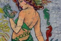 Mermaids, Selkies, & Others Books and Illustrations