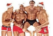 It's an M/M Christmas! / Gorgeous Christmas inspired men!
