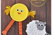 Easter Recipes, Activities and Crafts ♡ / Happy Easter! Time to break out the pastels, plastic eggs and Easter grass. DIY crafts for Easter, recipes and activities for kids. || Easter crafts for kids | Easter crafts for adults | Easter decor | Easter recipes | Easter Sunday | Easter kids activities | Easter brunch