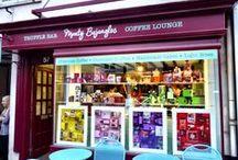 Monty Bojangles Truffle Bar Window Displays