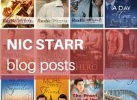 Nic Starr: Blog Posts / These are the personal posts from my blog (www.nicstarr.com). Usually the posts are about my writing, my m/m romance (gay romance) books, equality and love. #gayromance #mmromance #author